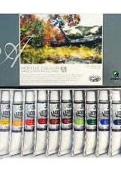 Acrylic Paints- 12's