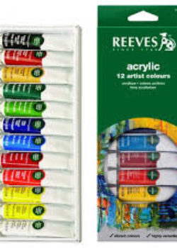Acrylic Paints- Reeves 12's