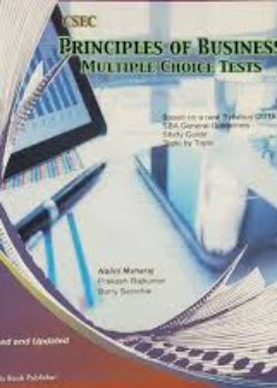 CSEC Principles of Business Multiple choice Tests Topic by Topic MAHARAJ