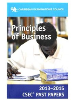 CXC Principles of Business Past Papers