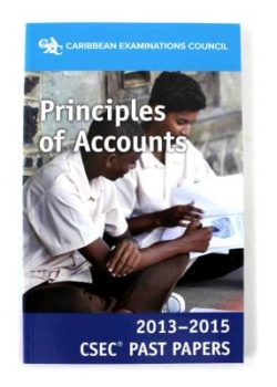CXC past papers Principles of Accounts General Proficiency