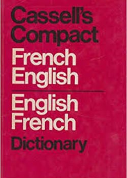 Cassel's Compact French English English French Dictionary