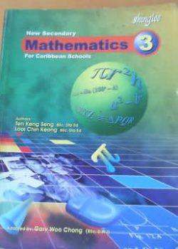 New Secondary Mathematics for Caribbean Schools bk 3