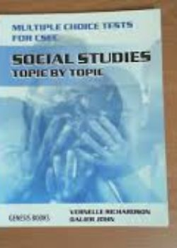 Social Studies Multiple Choice Test- Topic by Topic