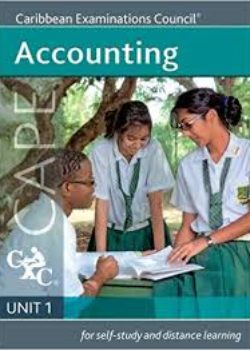 Caribbean Examination Council - CAPE Accounting Unit 1